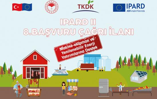 IPARD II Program 8. Başvuru Çağrı İlanı