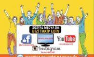 Sosyal Medya'da Bizi Takip Edin