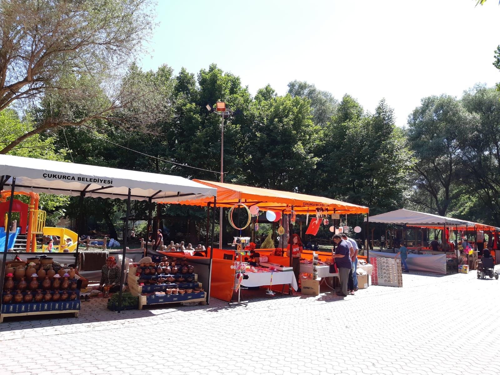 Çukurca Belediyesi Ilıcaksu Sarıkız Mesire Alanı Pazar Yeri Açıldı