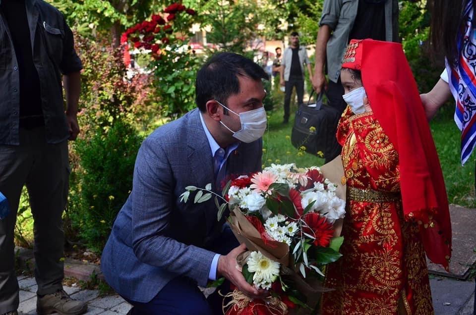 Çevre ve Şehircilik Bakanımız Sayın Murat Kurum'dan Beldemize Destek
